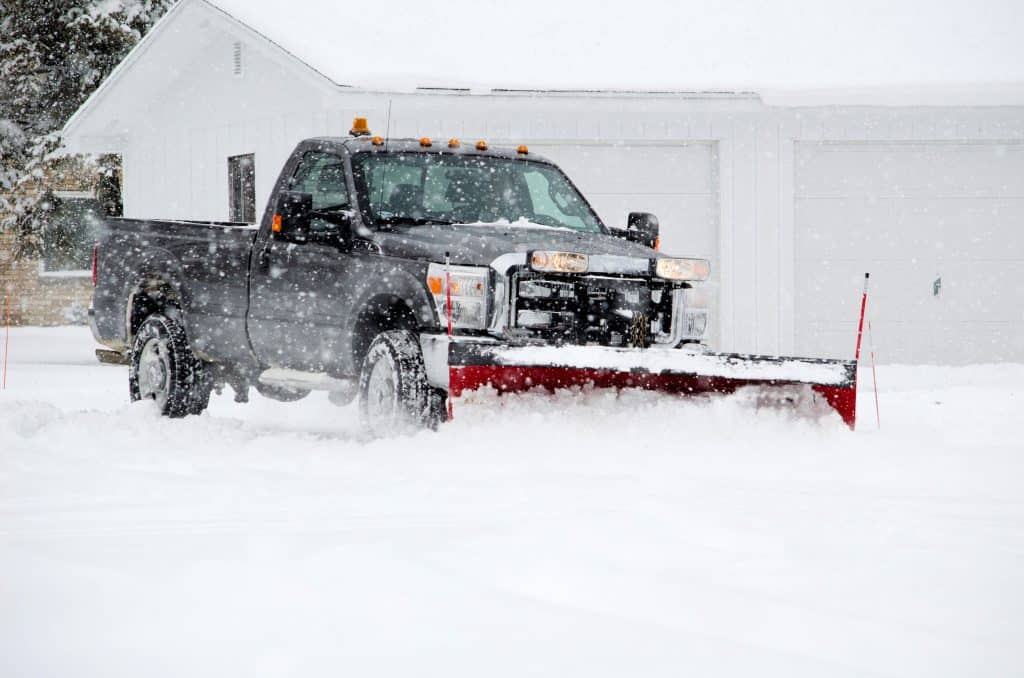 Mahtomedi MN Snow Plowing