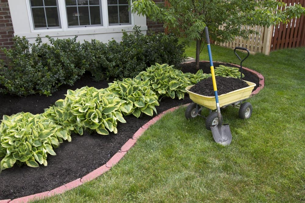 White Bear Lake Mulch Installation